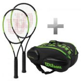 Paket 2 x Blade 98S Countervail + 1 x Blade Racketbag 15